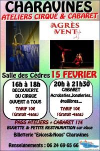 Cabaret Charavines Affiche
