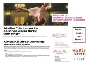 Flyer Dirty Dancing